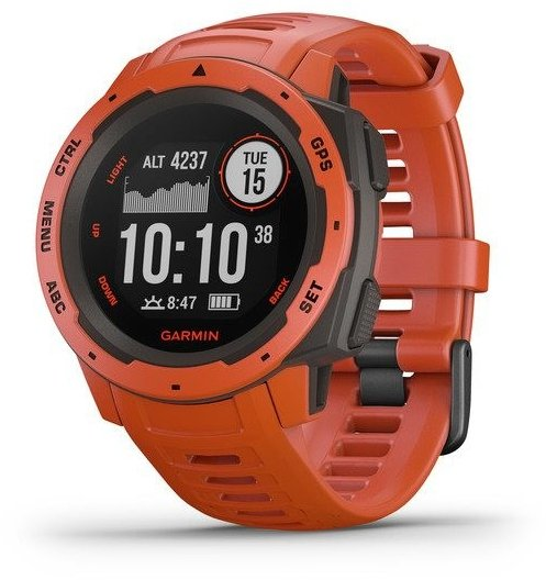 Watch Garmin Garmin Instinct Red Optic