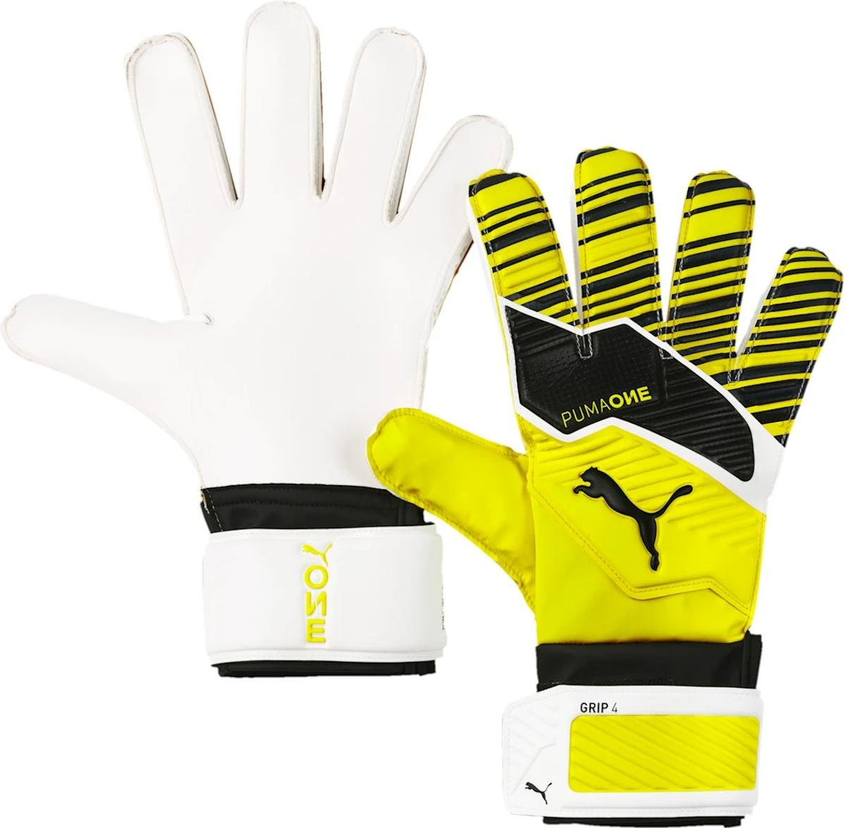 Goalkeeper's gloves Puma One Grip 4