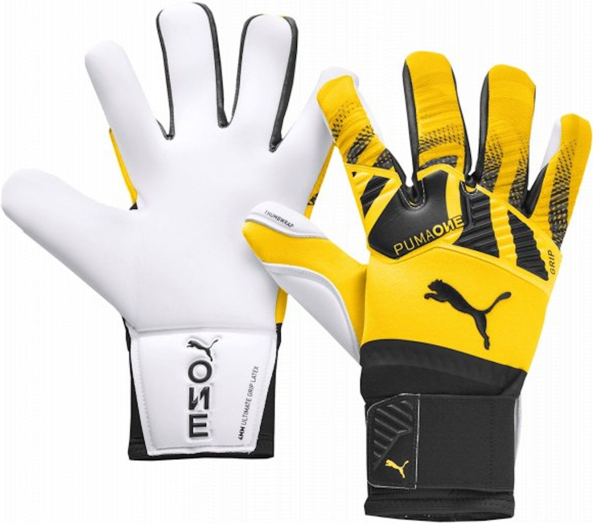 Goalkeeper's gloves Puma One Grip 1 Hybrid Pro TW GG