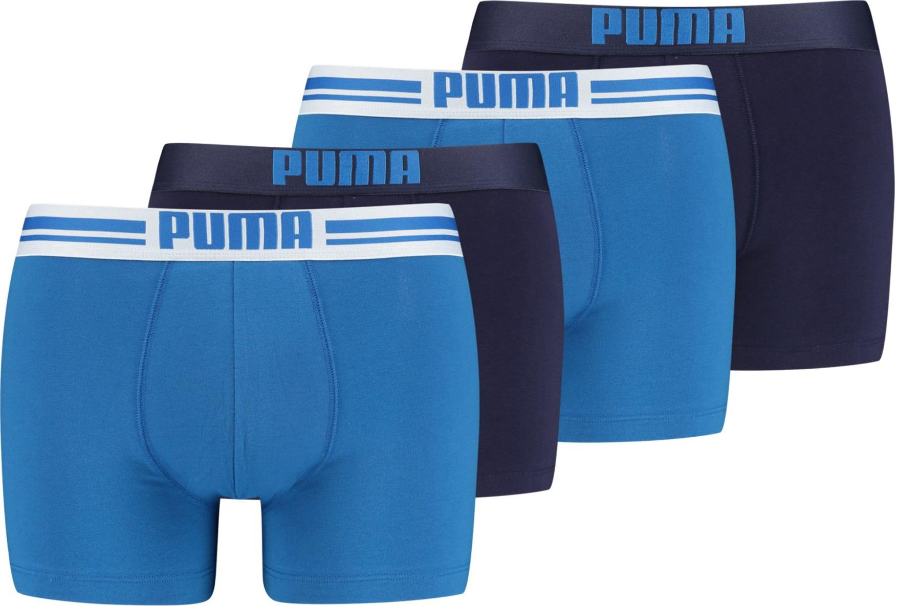Boxer shorts Puma Placed Logo Boxer 4 PACK