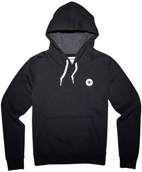 Hooded sweatshirt Converse chuck patch graphic hoody