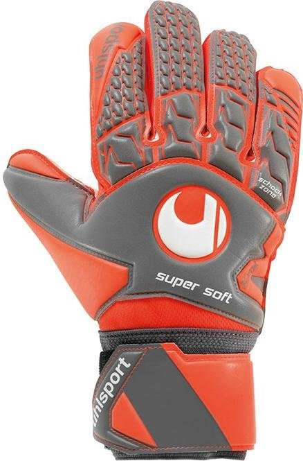 Goalkeeper's gloves Uhlsport aerored supersoft tw-