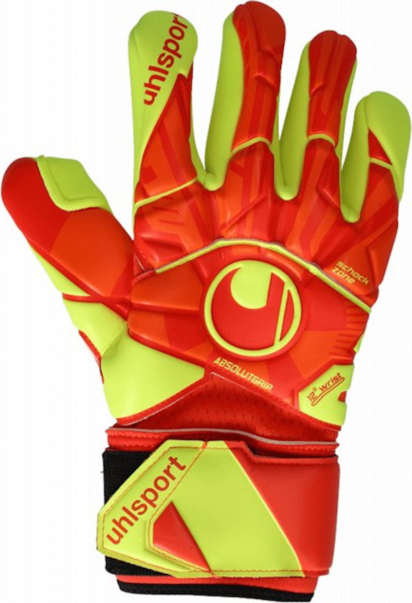 Goalkeeper's gloves Uhlsport Dyn. Impulse Absolutgrip FS TW glove