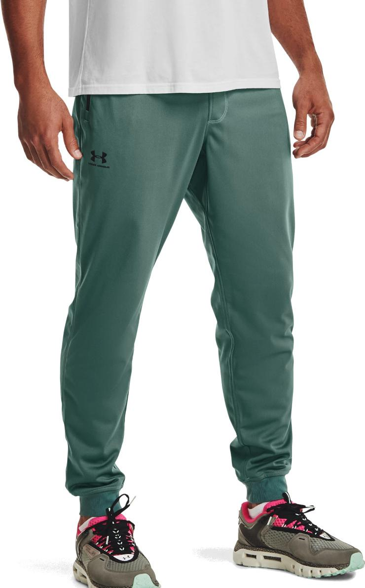 Pants Under Armour SPORTSTYLE TRICOT JOGGER-GRN