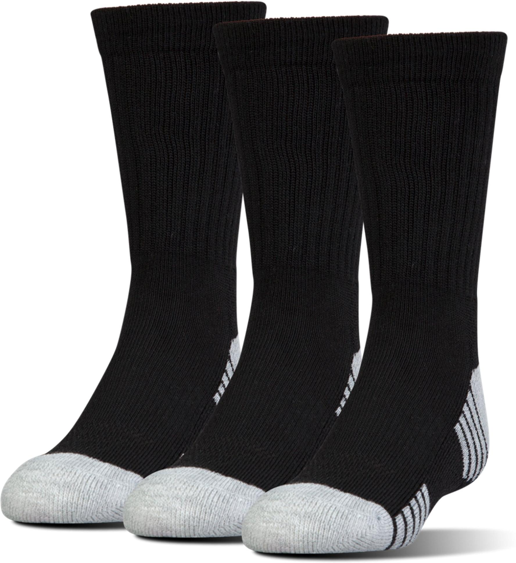 Socks Under Armour Boy UA Heatgear Crew 3 Pair