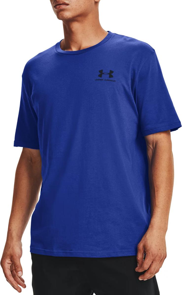 T-shirt Under Armour UA SPORTSTYLE LC SS-BLU